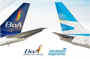 Aerolíneas Argentinas y BOA firman acuerdo interlineal