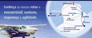 Aerolínea brasileña Aerosul anuncia vuelos entre Foz y Asunción