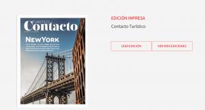 Contacto Turístico te informa sobre lo más relevante del sector