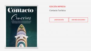 """Edición especial """"Cruceros"""" en la revista Contacto Turístico"""