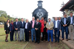 Avanza proceso de reactivación del histórico Tren del Lago