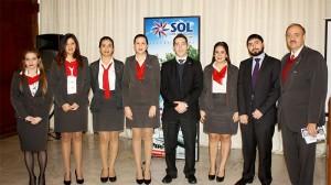 Presentan novedades de Sol del Paraguay en desayuno de trabajo