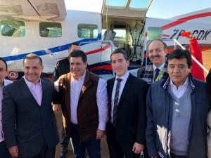 Sol del Paraguay aterrizó en Hernandarias