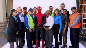 Spider-Man protagoniza video de seguridad de United Airlines