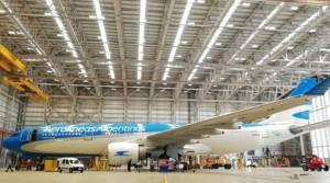 Talleres de mantenimiento de Aerolíneas Argentinas con nuevas certificaciones