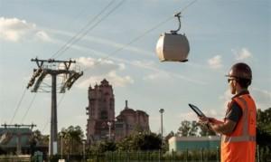 Disney puso a prueba su nuevo teleférico en Orlando