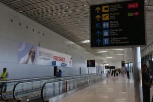 El Aeropuerto Internacional de Tocumencon nueva numeración en puertas de embarque