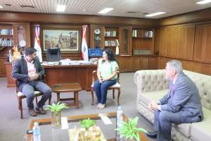 Senatur propone acciones conjuntas a la comuna capitalina