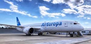 Air Europa incorpora primer Boeing 787-9 Dreamliner