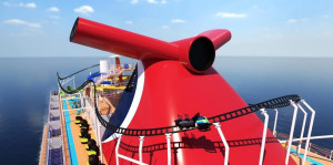 Carnival tendrá la primera montaña rusa montada en un crucero