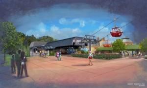 Teleféricos, nuevo medio de transporte en Disney