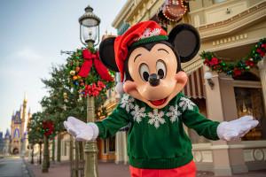 Disney anuncia festejos de Navidad y Año Nuevo en Orlando