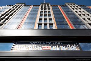 Disney revela detalles de su nuevo hotel en Paris dedicado a  Marvel