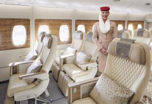 Emirates presentó su nueva Premium Economy