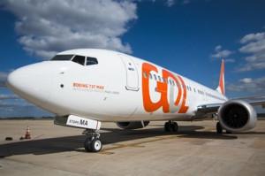 GOL recibió su primer avión Boeing 737 MAX 8