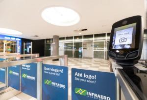 Primera ruta con embarque biométrico en Brasil