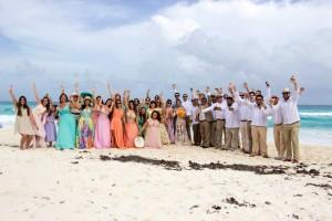 Sky Travel organiza boda para más de 100 personas en Cancún