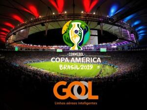 Gol es la aerolínea oficial de la Copa América Brasil 2019
