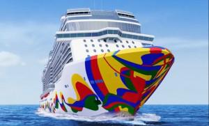 Norwegian Cruise Line reveló el diseño de su nuevo buque