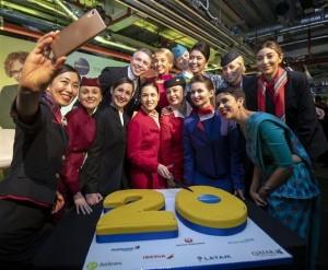 Alianza Oneworld festeja 20 años y beneficios con transformación digital