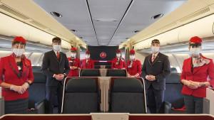 Turkish Airlines reanuda el servicio a bordo en todos sus vuelos internacionales
